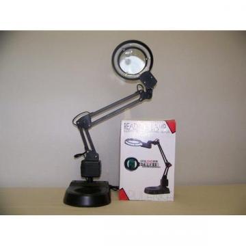 Lampa de birou metalica cu neon circular si lupa de la Startreduceri Exclusive Online Srl - Magazin Online - Cadour