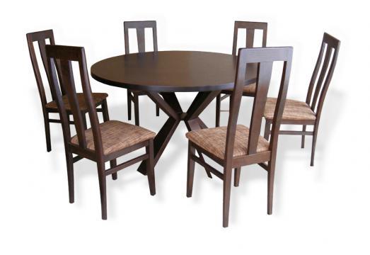 Masa 4V si 6 scaune MD207