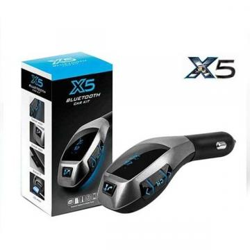Modulator auto X5 cu bluetooth, handsfree, port USB si slot de la Startreduceri Exclusive Online Srl - Magazin Online - Cadour