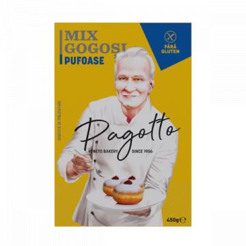 Mix pentru gogosi fara gluten Pagotto 500g de la Naturking Srl