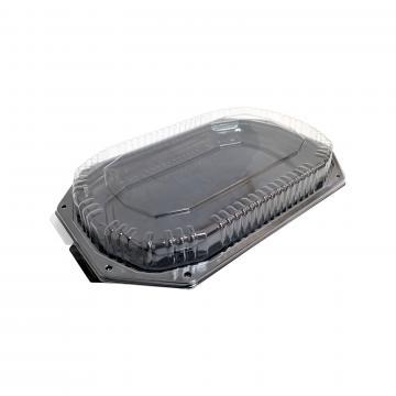 Platou negru din plastic cu capac transparent de la GM Proffequip Srl