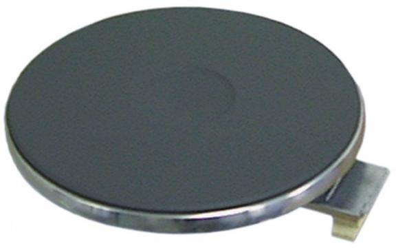 Plita electrica rotunda 220 mm, 2600W, 400V, 490021