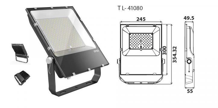 Reflector cu LED TL - 41080 de la D & D Safe Srl.