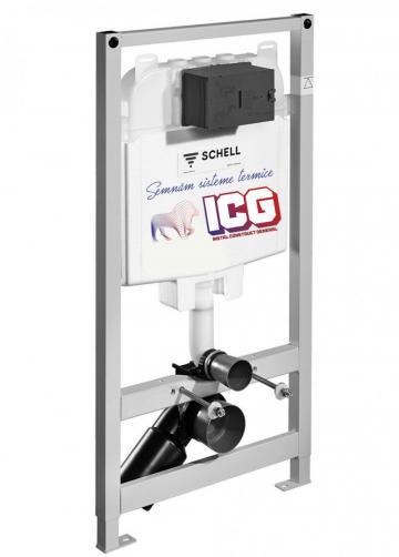 Rezervor wc ingropat Schell Montus de la ICG Center