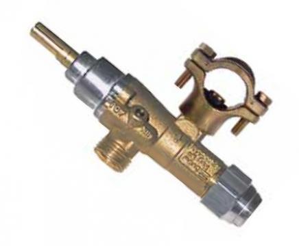 Robinet de gaz PEL 20, intrare gaz 21mm, 106143