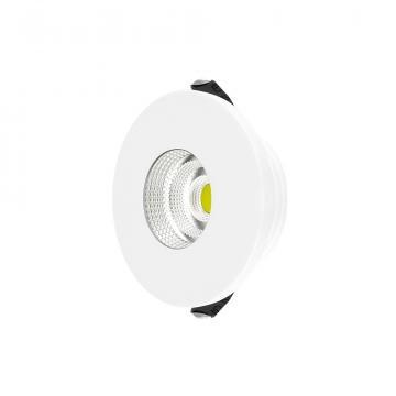 Spot LED rotund Minicob 3W, 210LM, 3000K de la Spot Vision Electric & Lighting Srl