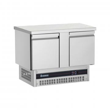 Frigider inox masa cu 2 usi BP-7300 de la GM Proffequip Srl