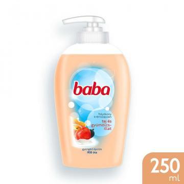 Sapun lichid Baba cu lapte, fructe 250ml