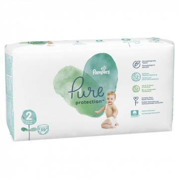 Scutece Pampers Pure Protection 4-8kg Mini 2 (39buc)