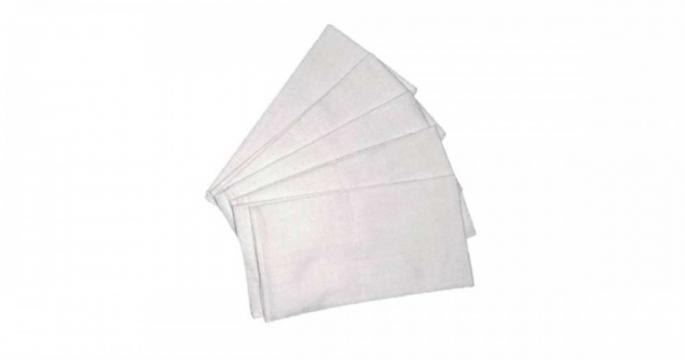 Scutece textile de calitate 5 buc # alb de la Pepita.ro