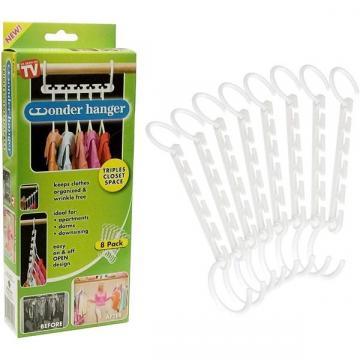 Set 8 accesorii pentru 40 umerase, Wonder Hanger