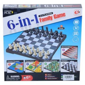 Set joc multiplu, 6 in 1 magnetic
