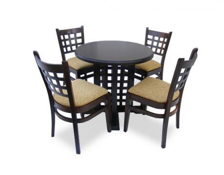 Set mobilier pentru bar masa si 4 scaune MD 170 de la Mobirom
