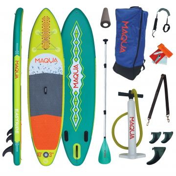 Set placa gonflabila Paddelboard SUP, surf gonflabila Easyri de la Mobilab Creations Srl