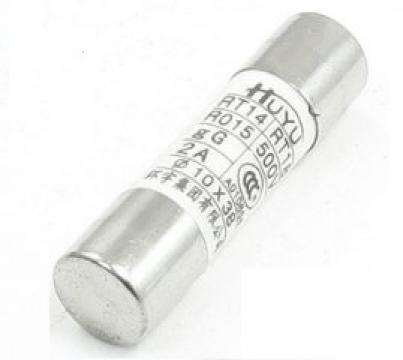 Siguranta ceramica cilindrica rapida 10A RT14, RT18, R015 de la Kalva Solutions Srl