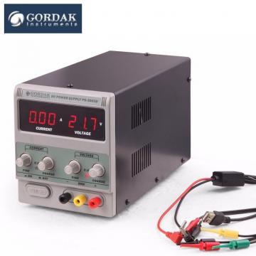 Sursa tensiune de laborator Gordak PS-3003D 0-30V/3A de la Retail Net Concept SRL