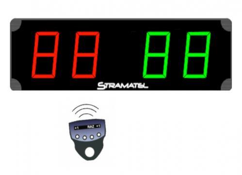 Tabela electronica scor Stramatel ME400 easy control de la Sc Licornia Srl