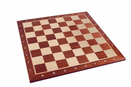 Tabla de sah - lemn mahon 55 x 55 mm de la Chess Events Srl