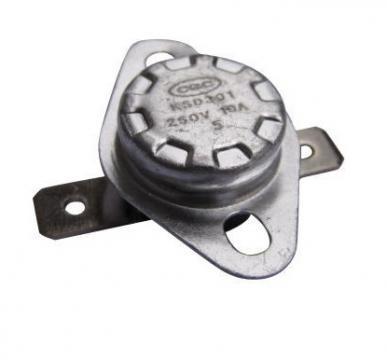 Termostat bimetal de siguranta 58*C, 10A/250V