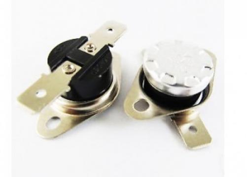 Termostat bimetal de siguranta 130*C, 10A/250V