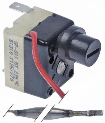 Termostat de siguranta 235C, 1 pol, 1CO, bulb 6mmx63m