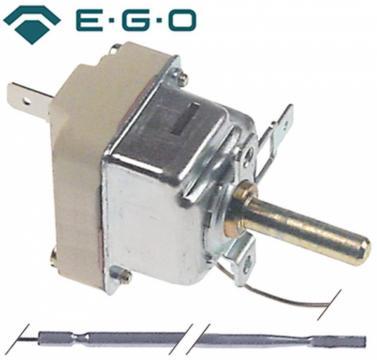 Termostat reglabil 100-192C, 1NO, 16A, bulb 4mmx235mm
