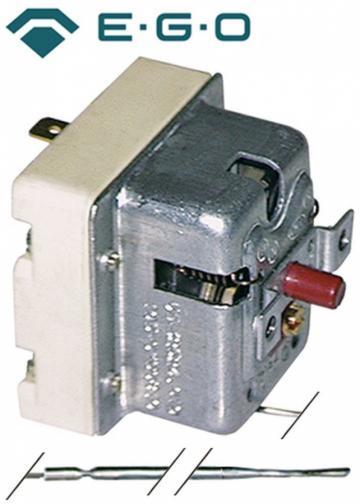Termostat de siguranta 125*C, 1pol, 0.5A, bulb 4mmx120mm