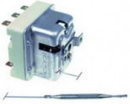 Termostat de siguranta 132C, 3 poli, 2x20/1x0,5A, M10x1