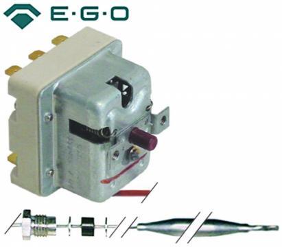 Termostat de siguranta 350C, 3 poli, 20A, bulb 4mmx120mm
