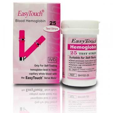 Teste pentru hemoglobina Easy Touch, 25 bucati de la Startreduceri Exclusive Online Srl - Magazin Online - Cadour