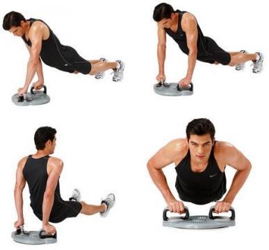 Aparat exercitii Twister Power 3in1 inSPORTline de la Sportist.ro - Magazin Articole Sportive
