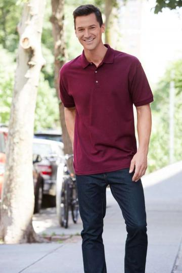 Tricou barbati Ultra Cotton Adult Pique Polo de la Top Labels
