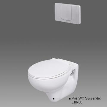 Vas WC suspendat L18400 de la Altdepozit Srl