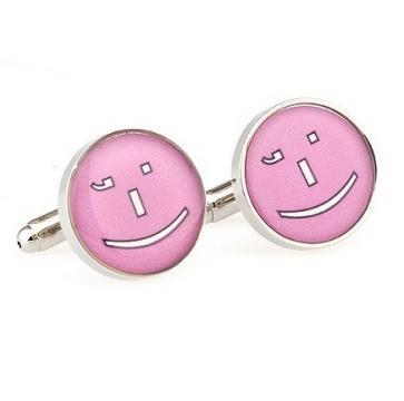 Butoni de camasa Pink Face