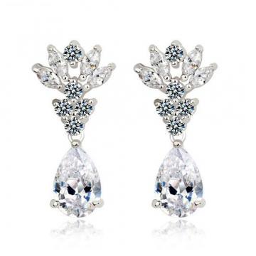 Cercei candelabru cu cristale Royal Diamonds