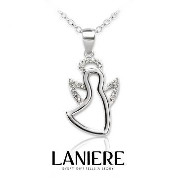 Colier din argint 925 cu cristale Jolly Angel Laniere