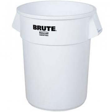 Container alimentar rotund Brute 37.9 litri, alb, Rubbermaid