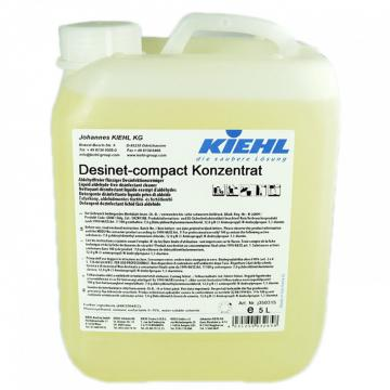 Detergent dezinfectant Desinet Compact manual, 5 L, Kiehl