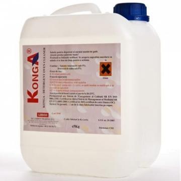Detergent degresant alcalin Cuptor si Plita, 5 L, Konga