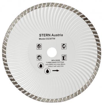 Disc diamantat taiere umeda si uscata Stern 230 mm de la Micul Gospodar