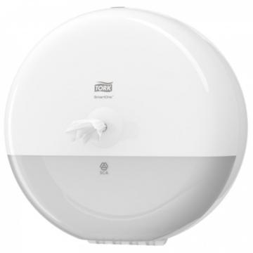 Dispenser hartie igienica Tork Smart One - Alb mic