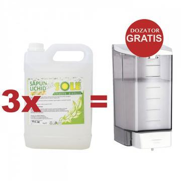 Dozator Mediclinics - la 3 rezerve sapun lichid