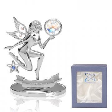 Cadou cu cristale Swarovski Zodia Fecioara de la Luxury Concepts Srl