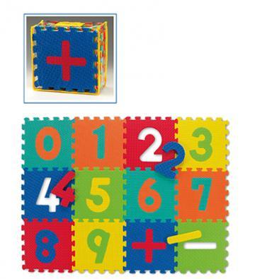 Covor cu cifre pentru copii - puzzle de la Prospalier Srl - Lemnaria Jder
