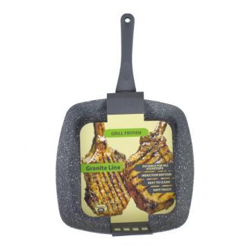 Tigaie grill Granite Line