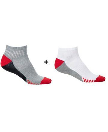 Sosete Duo Red - set 2 perechi