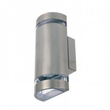 Aplica de exterior Gardenya-4, Inox, IP44, GU10, max 2x35W de la Viva Metal Decor Srl
