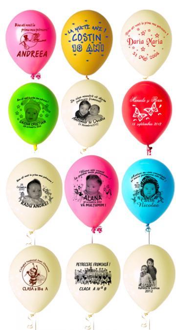 Baloane personalizate de la Alconcept Product SRL