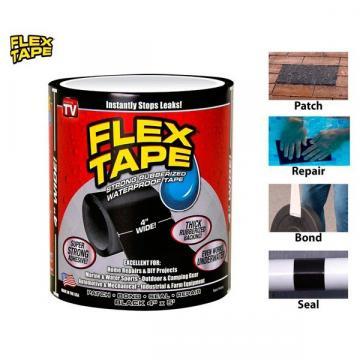Banda adeziva cauciucata reparatoare Flex Tape de la Www.oferteshop.ro - Cadouri Online