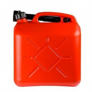 Canistra plastic pentru combustibil Strend Pro 20 L, rosie